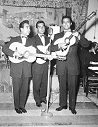 1954 -- Trio B.C. circa 1954, before Michael Matheos